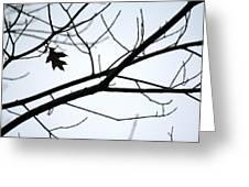 Tree Art Two Greeting Card