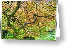 Tree Of Beauty Greeting Card