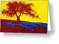 Tree Study 1 Greeting Card