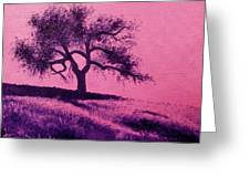 Tree Study 3 Greeting Card