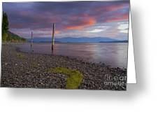 Trestle Creek Shore Greeting Card
