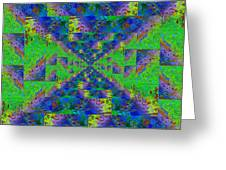 Triangulation Revisited Greeting Card
