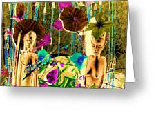 Tribal Color Greeting Card