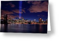 Tribute In Light II Greeting Card