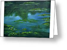 Tribute To Monet 2 Greeting Card