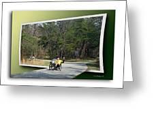 Trike Wave Greeting Card