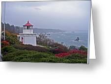 Trinidad Head Replica Light Greeting Card