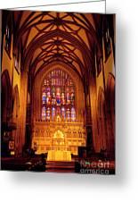 Trinity Church Greeting Card