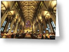 Trinity Church Nyc Greeting Card