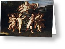 Triumph Of Cupid Greeting Card
