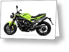 Triumph Speed Triple Motorcycle Greeting Card