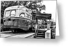 Trolley Car Diner - Philadelphia Greeting Card