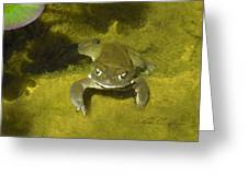Troll's Toad Greeting Card