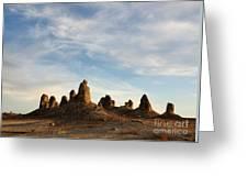 Trona Pinnacles 3 Greeting Card