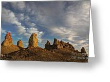 Trona Pinnacles 4 Greeting Card