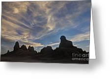 Trona Pinnacles 6 Greeting Card
