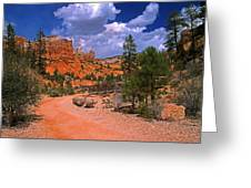 Tropic Canyon In Bryce Canyon Park Greeting Card