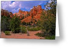 Tropic Canyon Greeting Card