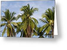 Tropical Cliche Greeting Card