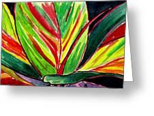 Tropical Foliage Greeting Card