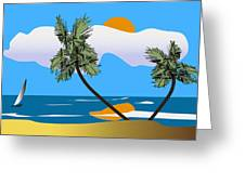 Tropical Outlook Greeting Card