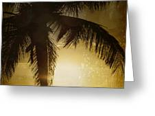 Tropical Paradise Greeting Card