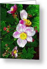 Tropical Pinks Greeting Card
