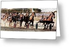 Trotting 3 Greeting Card