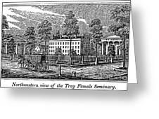 Troy Female Seminary, 1841 Greeting Card