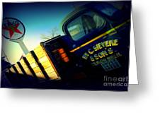Truck On Route 66 Greeting Card