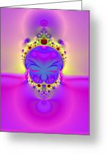 True Face Behind Those Crowns II Greeting Card