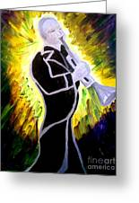 Trumpet Fever Greeting Card