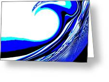 Tsunami Swell Greeting Card