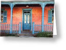 Tucson Front Porch Greeting Card