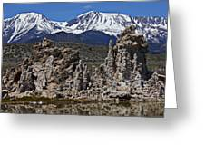 Tufa At Mono Lake California Greeting Card
