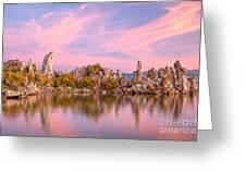 Tufa Towers Greeting Card