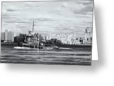 Tugboat Turecamo Girls II Greeting Card