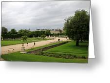 Tuileries Gardens 4 Greeting Card