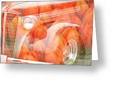 Tulip Car Abstract Greeting Card