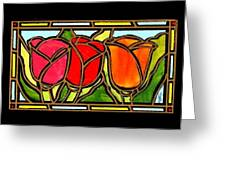 Tulip Friends Greeting Card