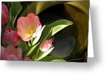 Tulip Lights Greeting Card