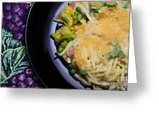 Tuna Noodle Casserole Greeting Card