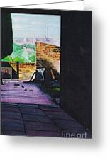 Tunnel Vision 4 Greeting Card