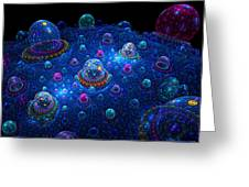 Turn Off The Bubble Machine Greeting Card