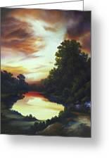 Turner's Sunrise Greeting Card