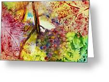 Turning Leaves Greeting Card