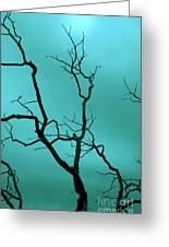 Turquoise Sky Greeting Card
