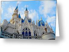 Turrets And Spires Greeting Card