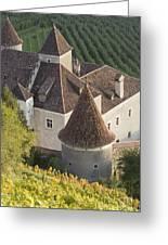 Turrets Schloss Goldrain Greeting Card