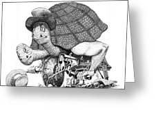 Turtle Thing Greeting Card